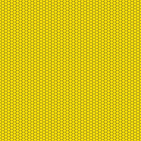 Seamless Honeycomb Pattern Stock Photo