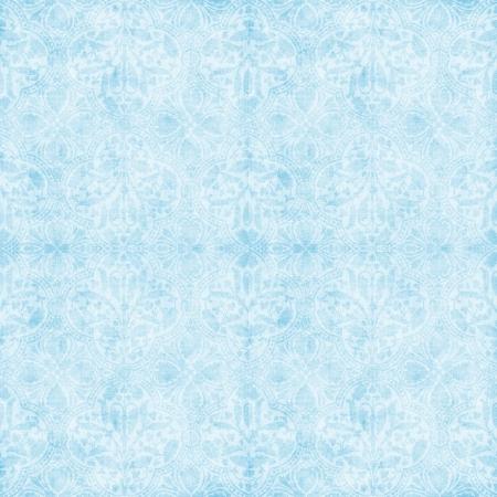 ヴィンテージ明るい青いタペストリー 写真素材