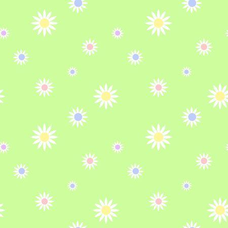 Seamless Daisy Background photo