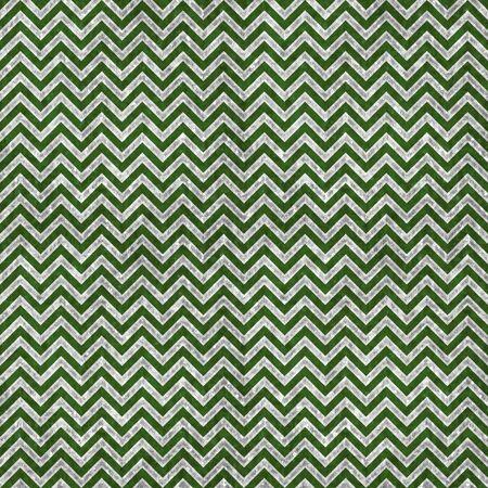 Green   Silver Chevron Pattern Stock Photo