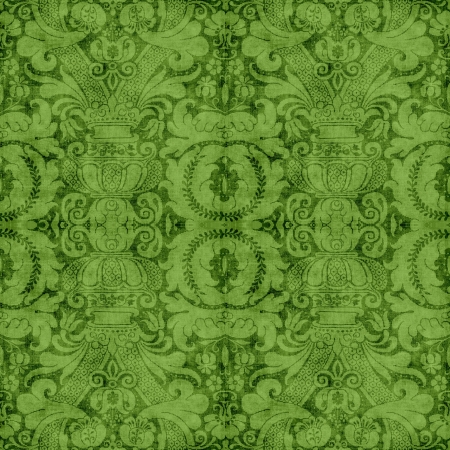 Vintage Green Tapestry photo