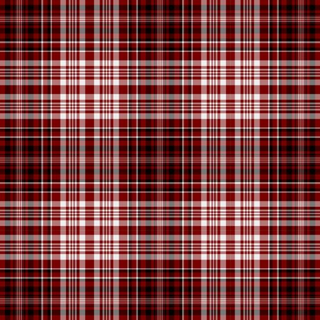 Seamless Red, White, & Black Plaid photo