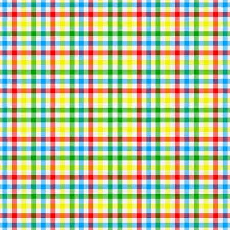 Bright Colorful Plaid  Stock Photo - 15415919