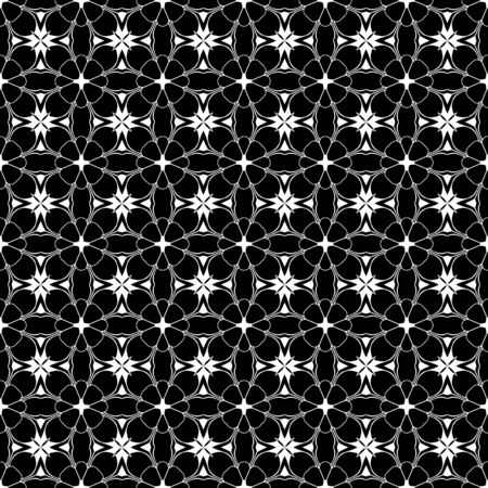 Allover Kaleidoscope Design Stock Photo