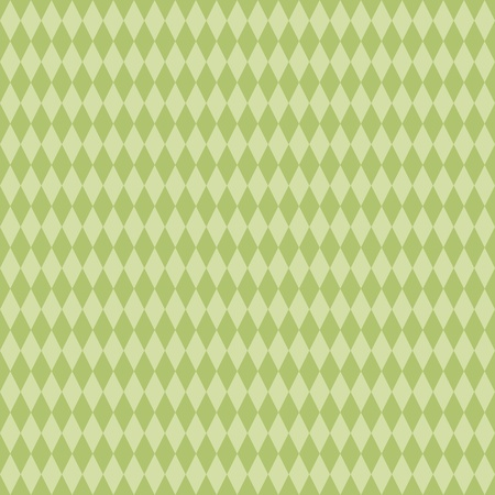 Seamless Green Diamond Background photo