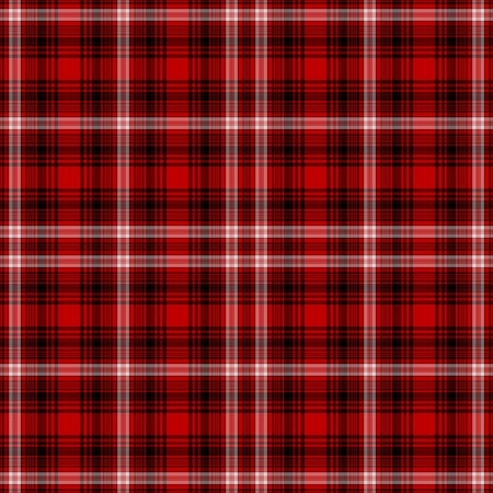 원활한 빨강, 흰색, 검정색 격자 무늬