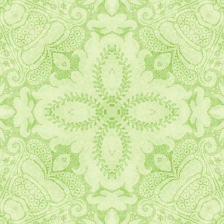 Vintage Light Green Tapestry