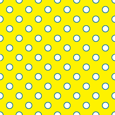 Seamless Bright Polka Dots