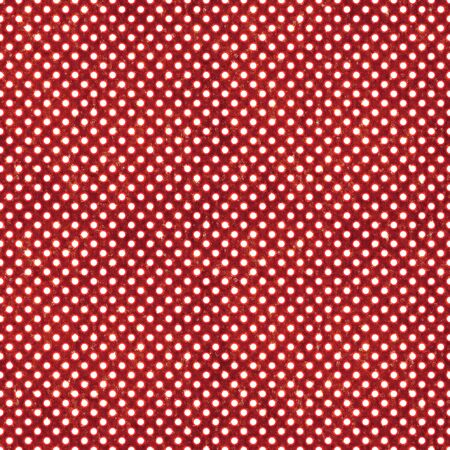 Seamless Red & White Polka Dot