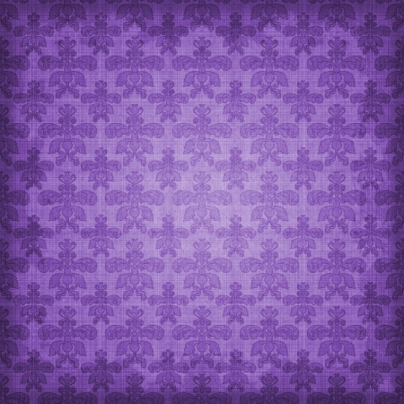 Shaded Purple Damask Background photo