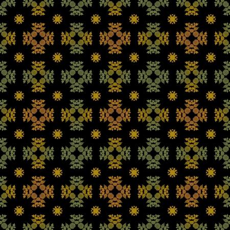 Seamless Fall Colors on Black Reklamní fotografie