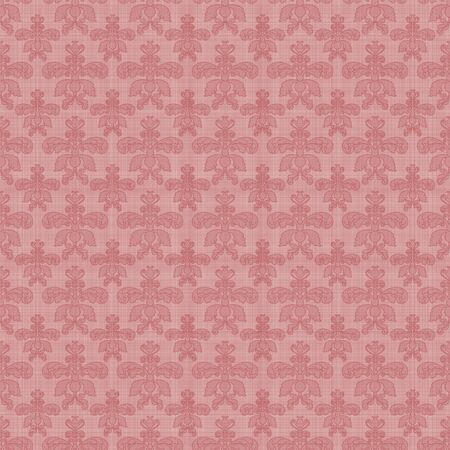Seamless Pink Damask  Stock Photo - 15748487
