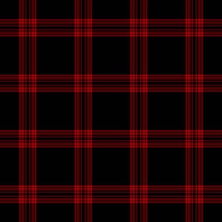 Black & Red Plaid