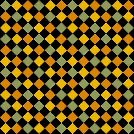 diagonal: Seamless Bright Diagonal Checks