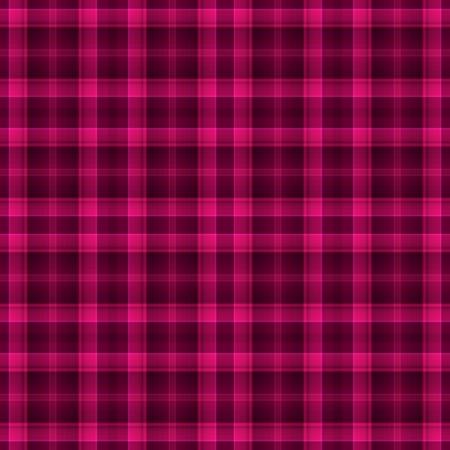 シームレスなホットのピンクの格子縞背景