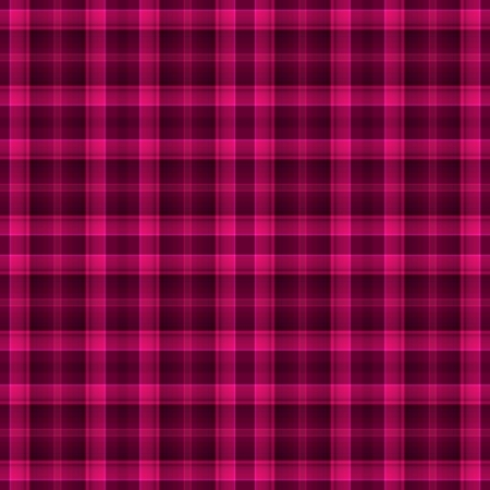 jaunty: Seamless Background Hot Pink Plaid Foto de archivo