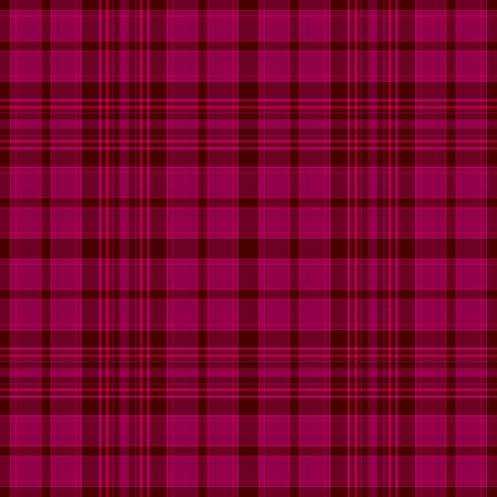 Seamless Bright Pink Plaid  photo