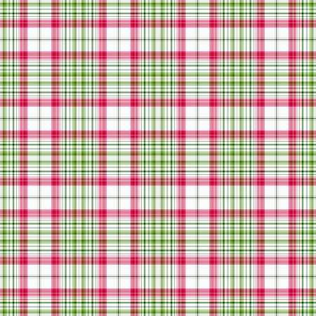 Bright Pink & Green Plaid Stock Photo