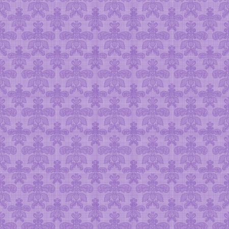 Seamless Purple Damask