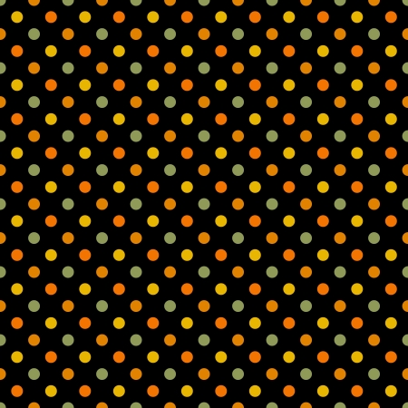 Seamless Bright Polka Dot Pattern