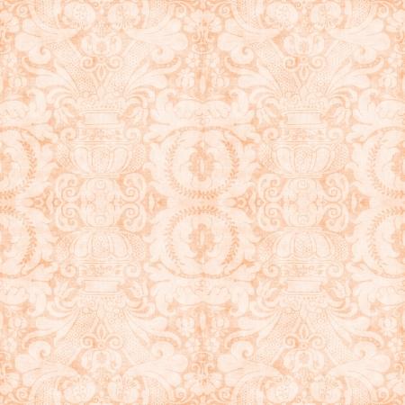 Vintage Light Peach Tapestry