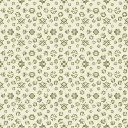 Seamless Snowflake Pattern photo