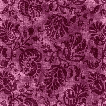 Vintage Pink Floral Tapestry Фото со стока