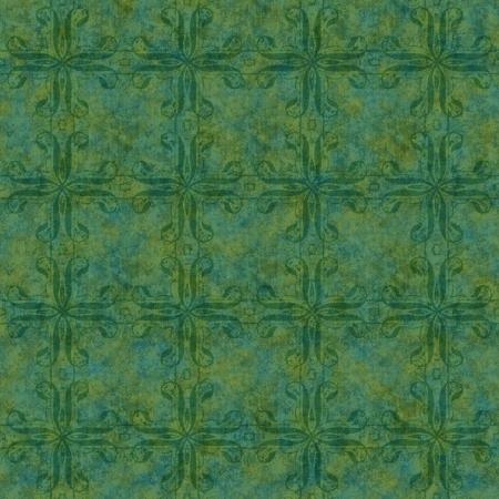 Seamless Green Mottled Swirl