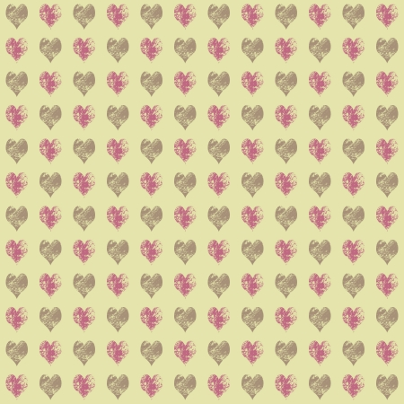 Seamless Hearts Design photo
