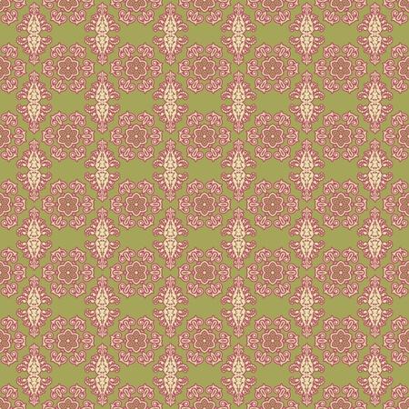 Seamless Damask Pattern Stock Photo - 16981662