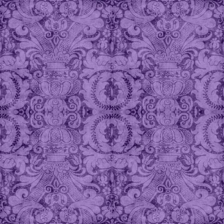 ビンテージ紫タペストリー