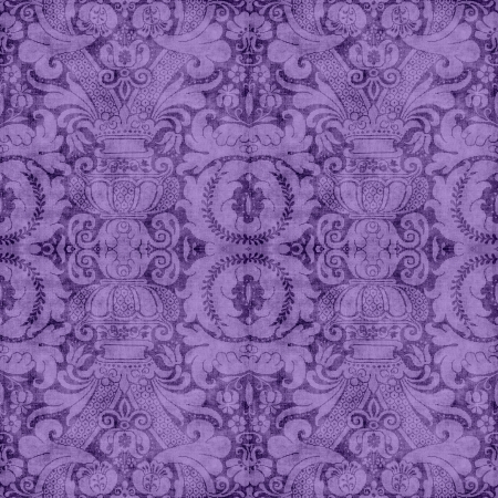 Vintage Purple Tapestry