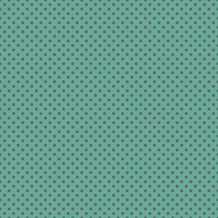 Seamless Purple Dots on Teal photo