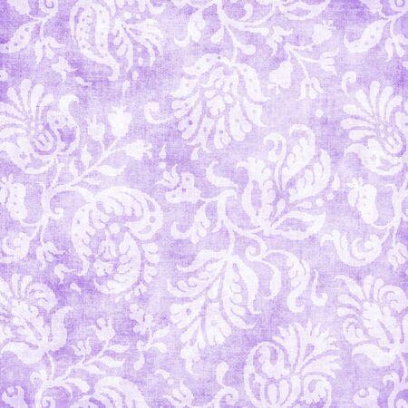 Vintage Pale Lavender Floral Tapestry