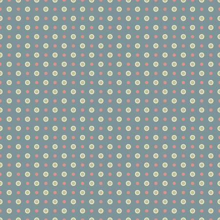 Seamless Dots & Circles