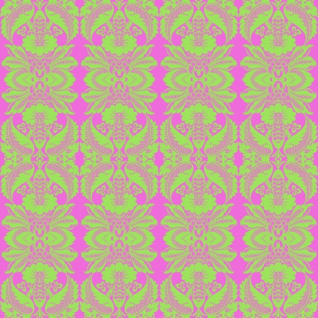 Bright Tropical Pattern