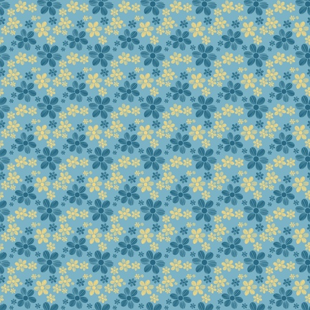 Seamless Flower Pattern photo