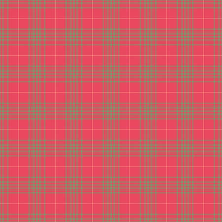 Seamless Pink & Green Plaid photo