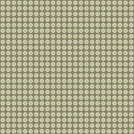 Seamless Daisy Background Stock Photo