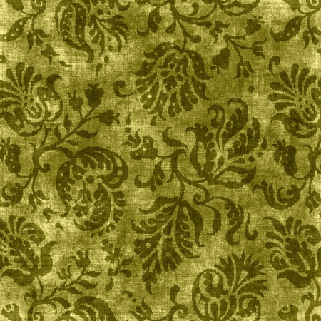 Vintage Floral Tapestry Stock Photo