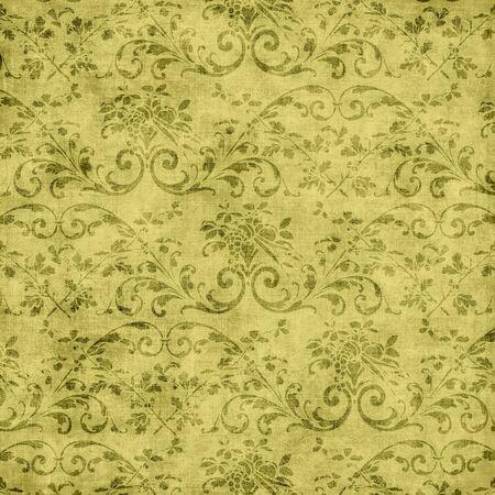 ビンテージ花のタペストリー