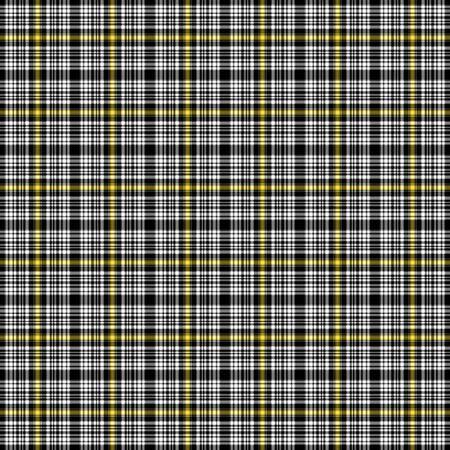 Black, Yellow, & White Plaid