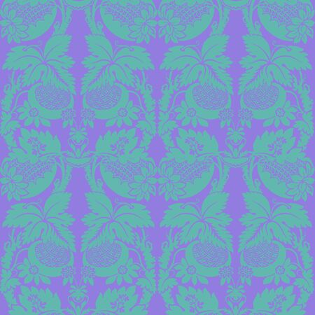 Bright Tropical Floral Pattern