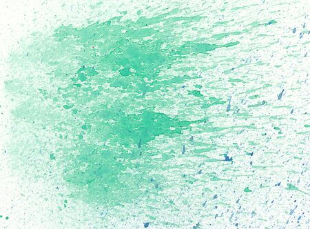 background design: watercolor green spray textures on paper
