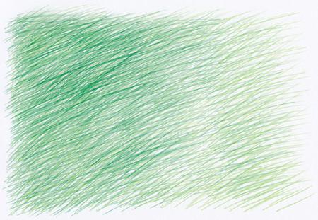 cross hatching: pen drawings textures background in green tones Stock Photo
