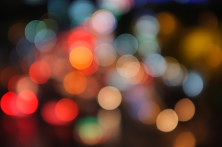 blurred: defocused colorful background