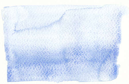 rough: blue textures watercolor on rough paper background Stock Photo