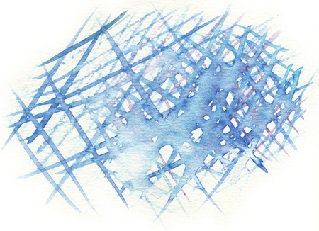 cross hatching: blue cross hatching abstract watercolor background