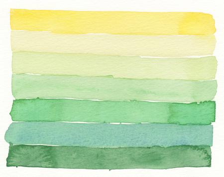 colores pastel: capas de texturas de colores de acuarela Foto de archivo