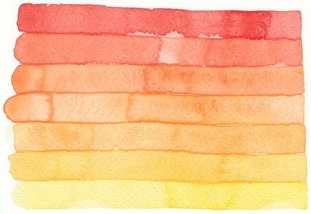 stripe: watercolor red orange stripe